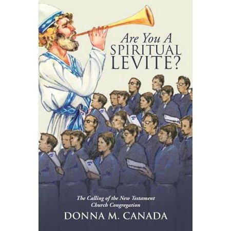 are you a spiritual levite
