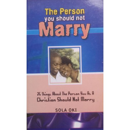 the person you should not marry ebook