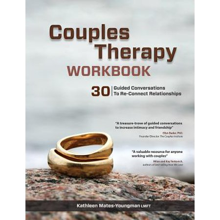 couples therapy workbook 30 guided conversations to re connect relationships
