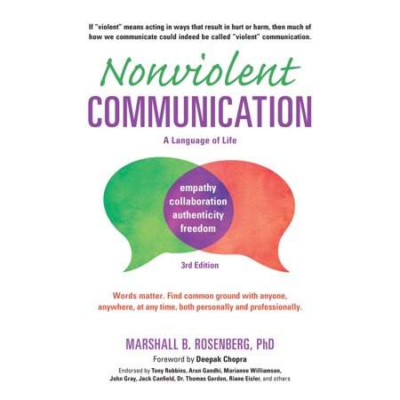 nonviolent communication a language of life 3rd edition life changing tools for healthy relation