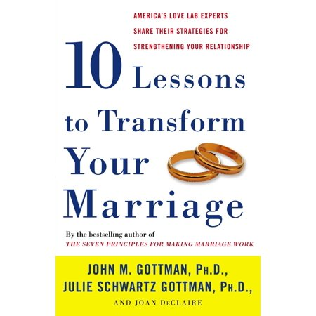 ten lessons to transform your marriage americas love lab experts share their strategies for stren