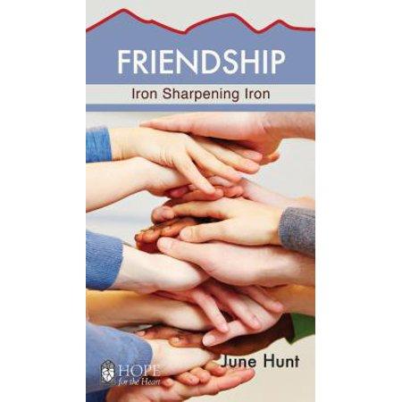 friendship minibook iron sharpening iron