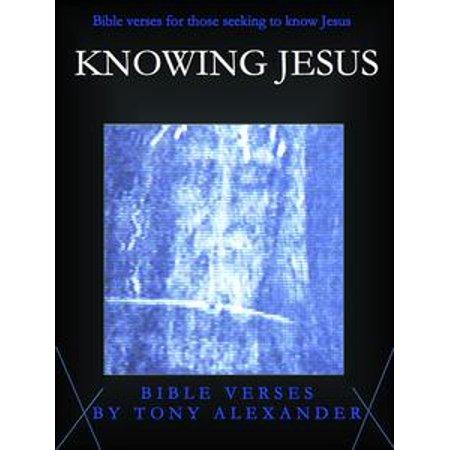 knowing jesus bible verses ebook
