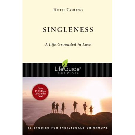 lifeguide bible studies the singleness paperback