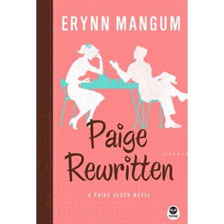paige rewritten a paige alder novel ebook
