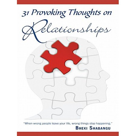 31 provoking thoughts on relationships ebook