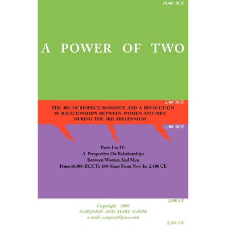 a power of two the 3rs of respect romance and a revolution in relationships between women and me