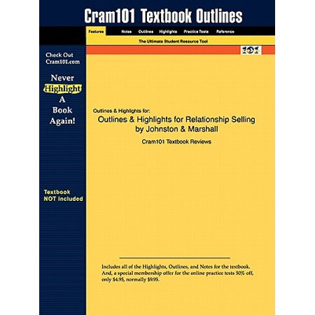 outlines highlights for relationship selling by johnston marshall