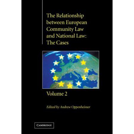 the relationship between european community law and national law the cases