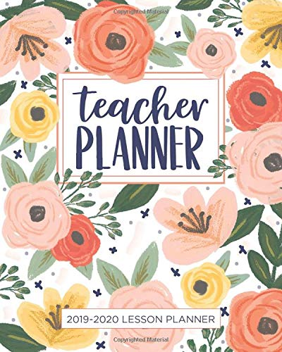 Lesson Planner for Teachers: Weekly and Monthly Teacher Planner | Academic Year ...