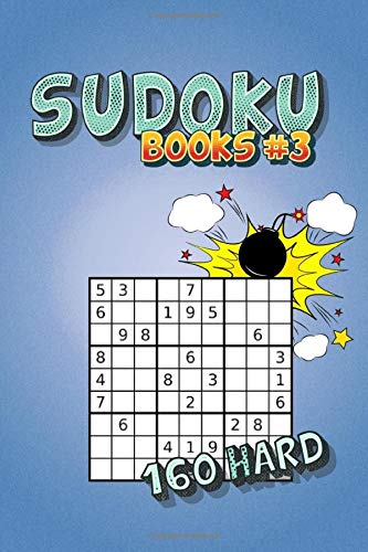 SUDOKU BOOKS 3 SUDOKU HARD FOR EXPERTS WITH SOLUTIONS